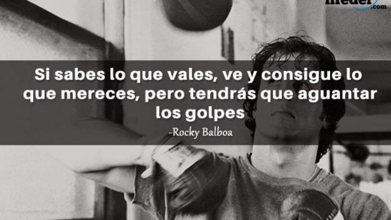 Las 30 Mejores Frases De Rocky Balboa Lifeder