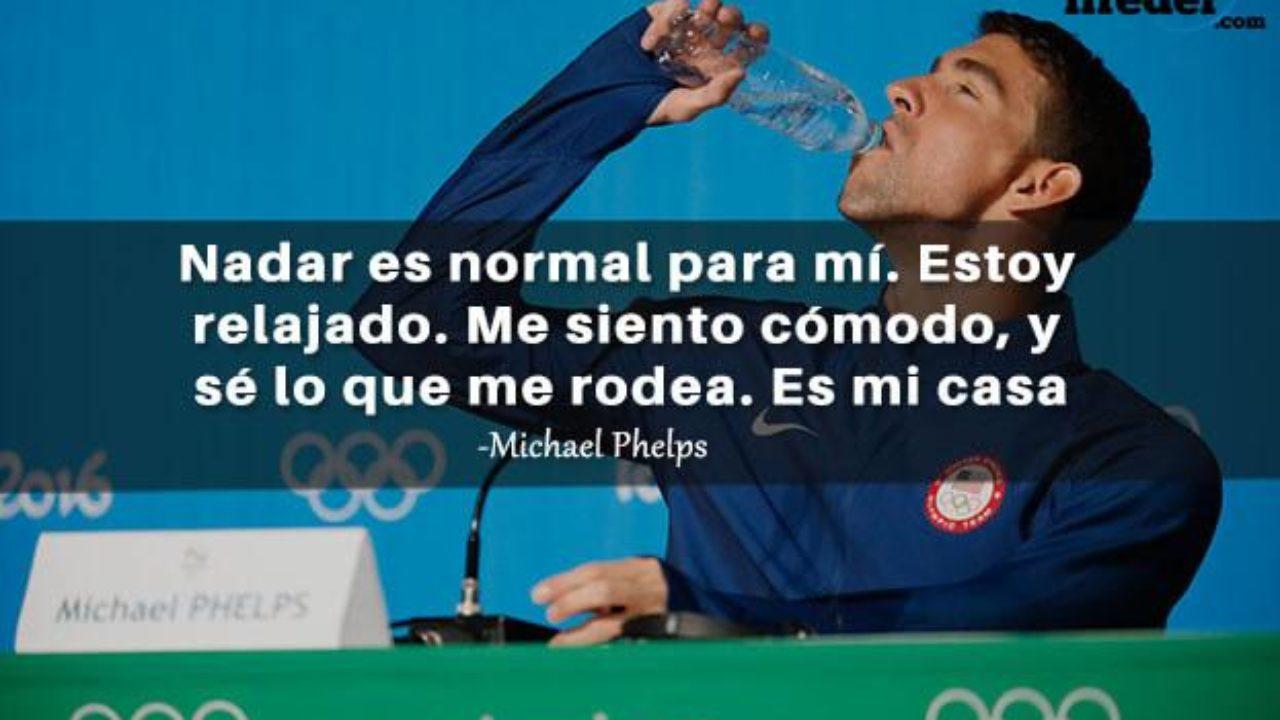 Las 27 Mejores Frases De Michael Phelps