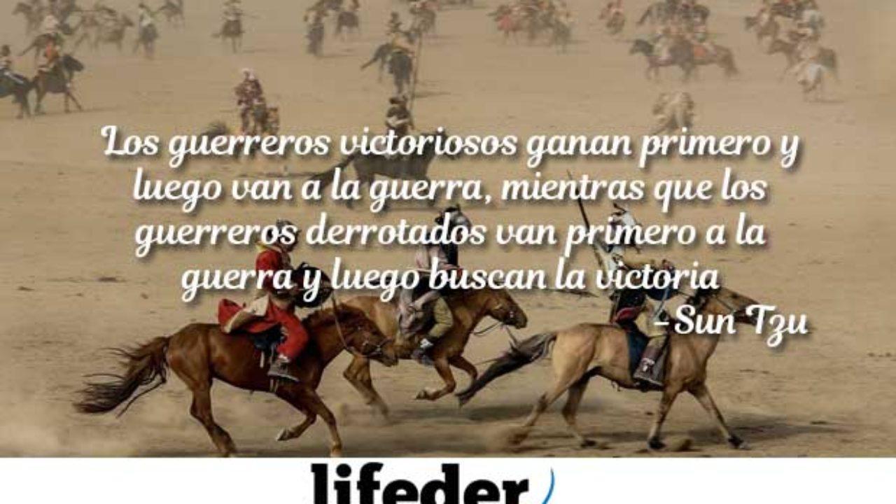 Las 100 Mejores Frases De Guerreros Con Imágenes Lifeder