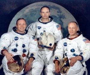 Neil Armstrong, Michael Collins y Edwin «Buzz»
