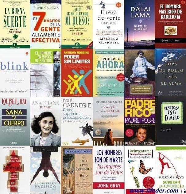 Recopilación de los mejores libros de autoayuda