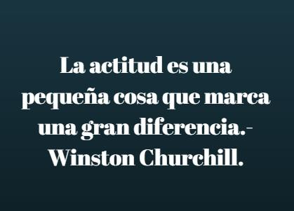actitud churchill