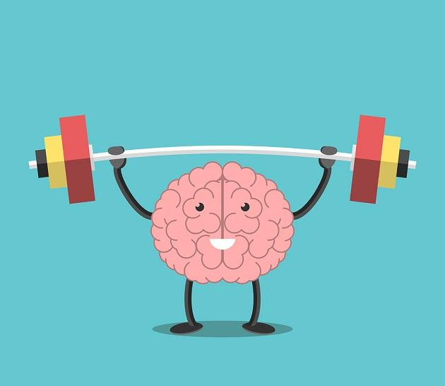 Strong Brain With Barbell