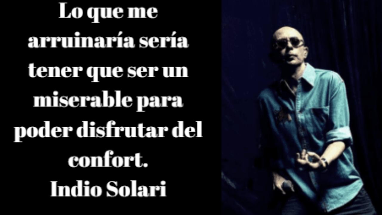 Las 100 Mejores Frases Del Indio Solari Lifeder