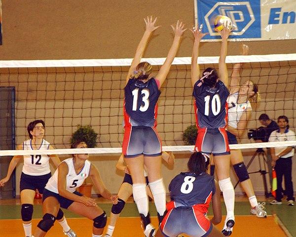 principales posiciones de los jugadores de voleibol