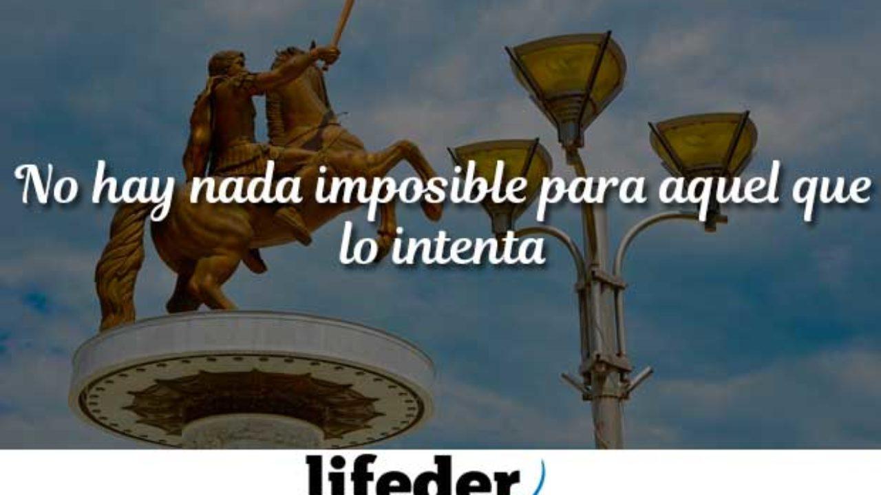 Las 57 Mejores Frases De Alejandro Magno Lifeder