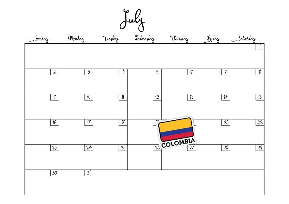 Las 4 Fiestas Patrias De Colombia Más Importantes Lifeder
