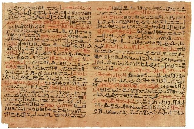 ورق البردى بمصر