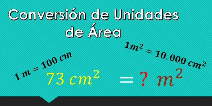 Cómo Convertir Cm² A M² Lifeder