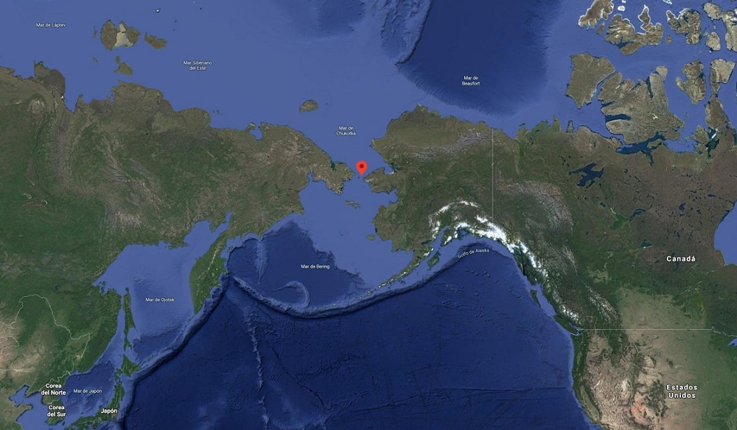 Estrecho De Bering Localización Características Teoría