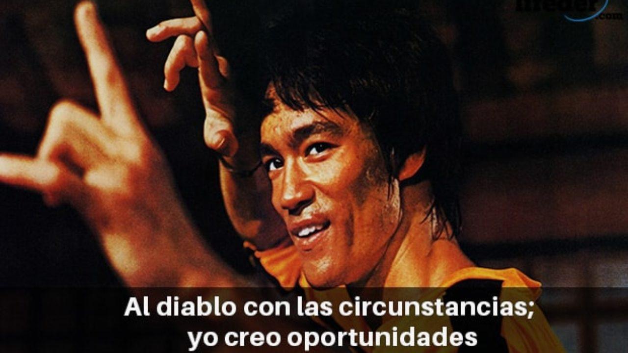 Las 100 Mejores Frases De Bruce Lee Con Imágenes Lifeder