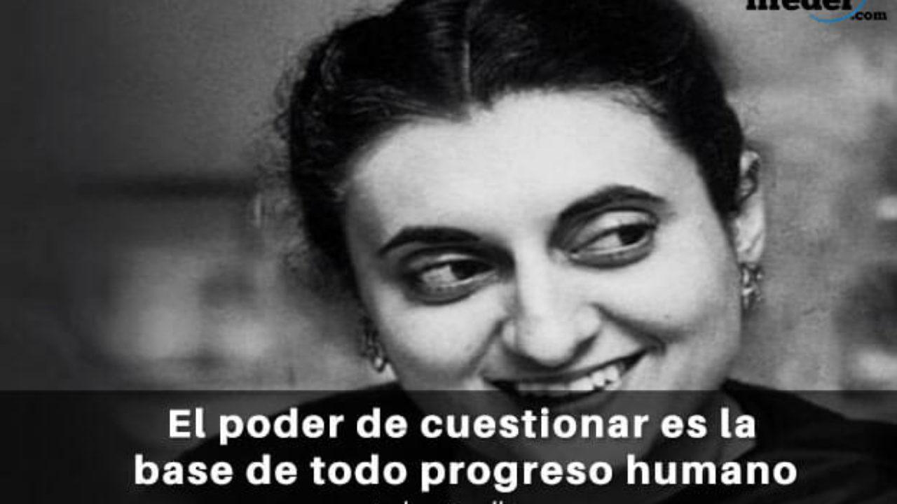 Las 75 Mejores Frases De Indira Gandhi Lifeder