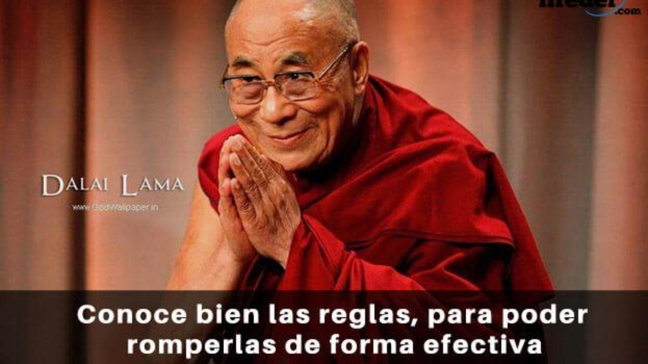 100 Frases Del Dalai Lama Sobre El Amor Optimismo Y Vida