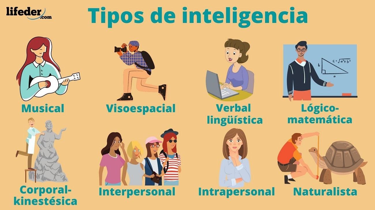 Los 8 Tipos De Inteligencia Y Cómo Identificarlas