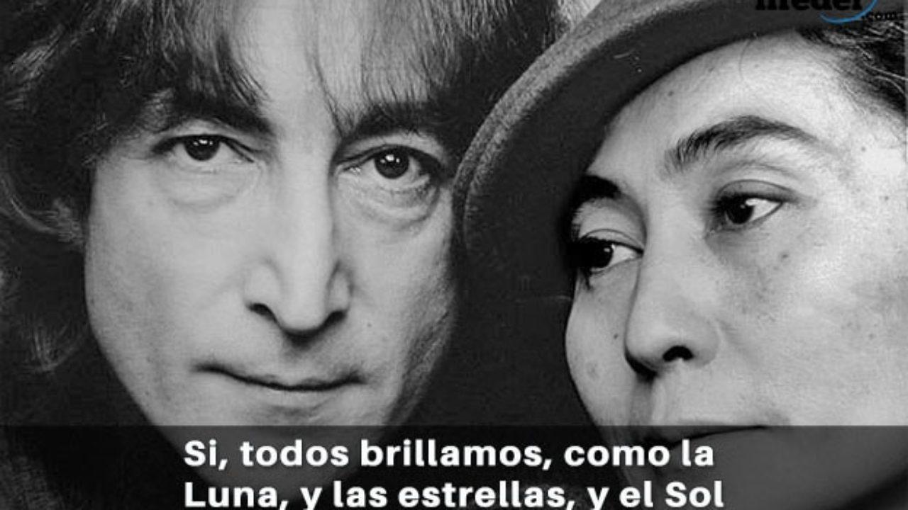 Las 100 Mejores Frases De John Lennon Vida Y Amor Lifeder