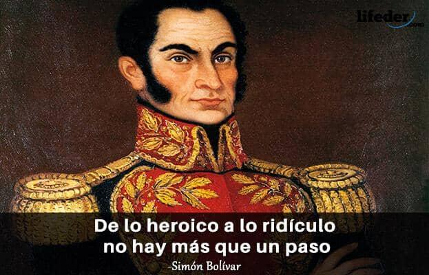 Las 100 Mejores Frases De Simón Bolívar Lifeder