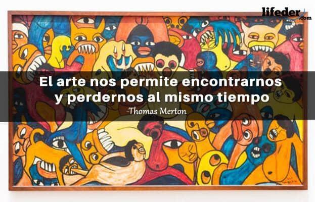 Las 100 Mejores Frases De Arte De Grandes Artistas Lifeder