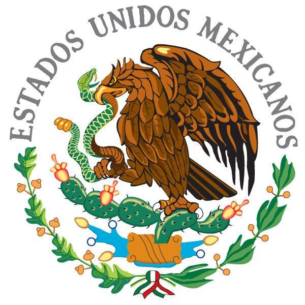 Leyenda de los símbolos patrios de México
