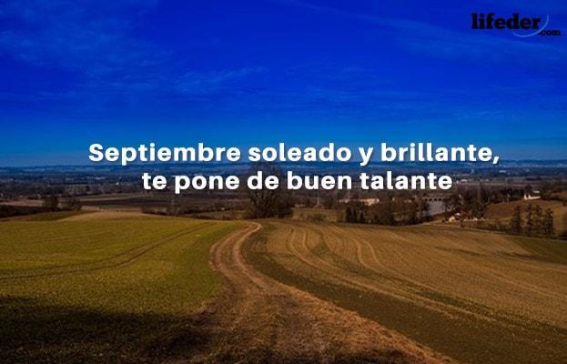 70 Bonitas Frases De Septiembre Lifeder