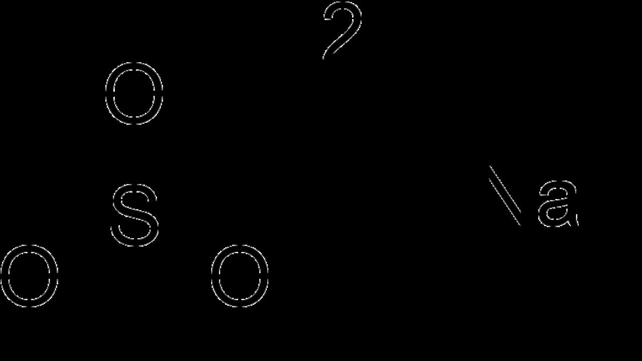 Sulfito De Sodio Na2so3 Estructura Propiedades Usos