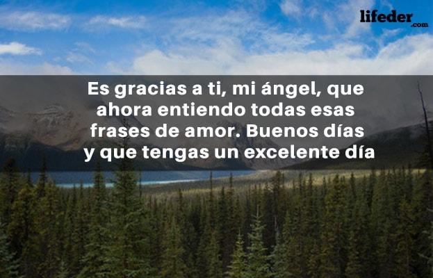 100 Frases De Buenos Días Amor Cortas Lifeder