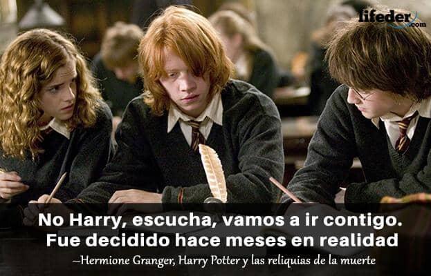Las 100 Mejores Frases De Harry Potter Lifeder