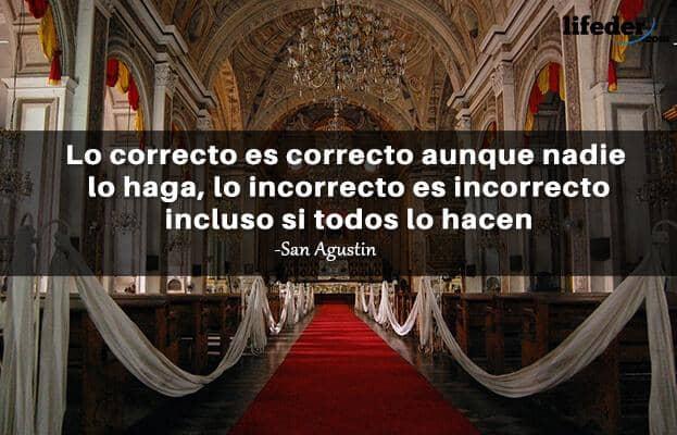 Las 100 Mejores Frases De San Agustín De Hipona Lifeder