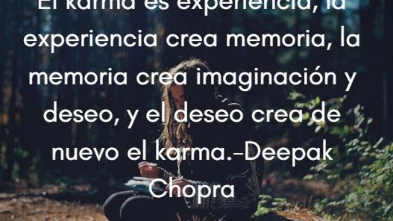 95 Frases Sobre El Karma Para Meditar Con Imágenes Lifeder