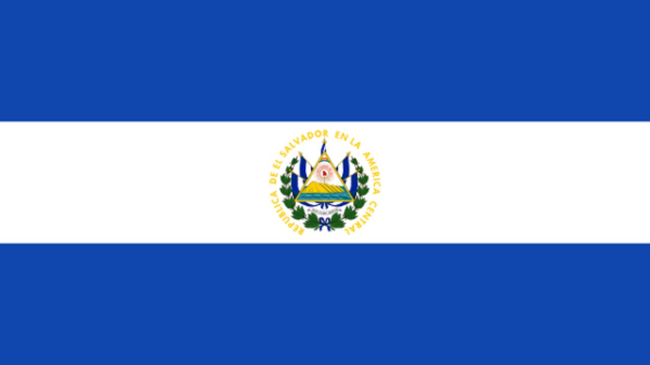 Resultado de imagen para bandera de el salvador