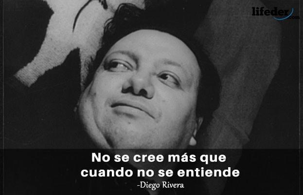 Las 36 Mejores Frases De Diego Rivera Lifeder