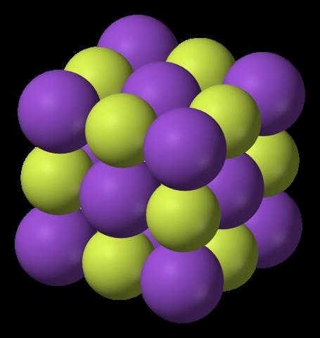 Fluoruro de potasio (KF): estructura, propiedades y usos