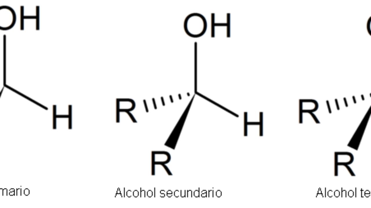 alcohol primario y secundario diferencia