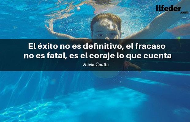 50 Frases De Natación De Nadadores Famosos Lifeder