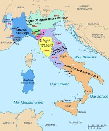 Unificación De Italia Antecedentes Causas Fases