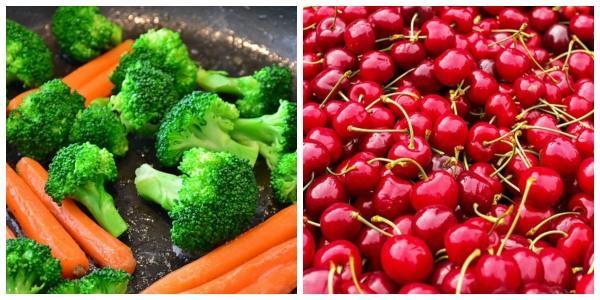 10 alimentos de origen animal para colorear