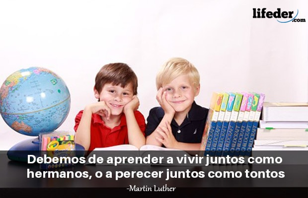 Las 65 Mejores Frases De Convivencia Escolar Lifeder