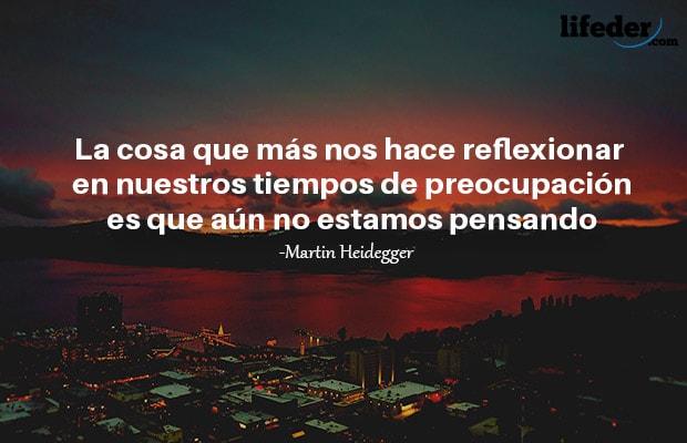Las 81 Mejores Frases De Martin Heidegger Lifeder