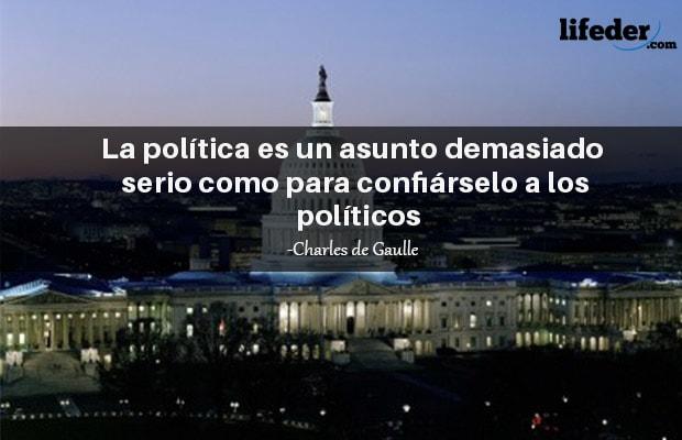 Las 101 Mejores Frases De Política Lifeder
