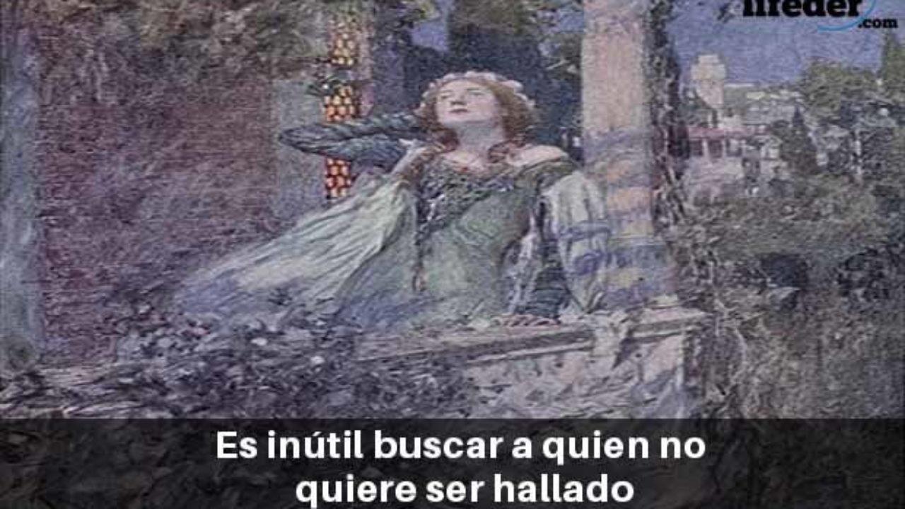 Las 75 Mejores Frases De Romeo Y Julieta Shakespeare Lifeder