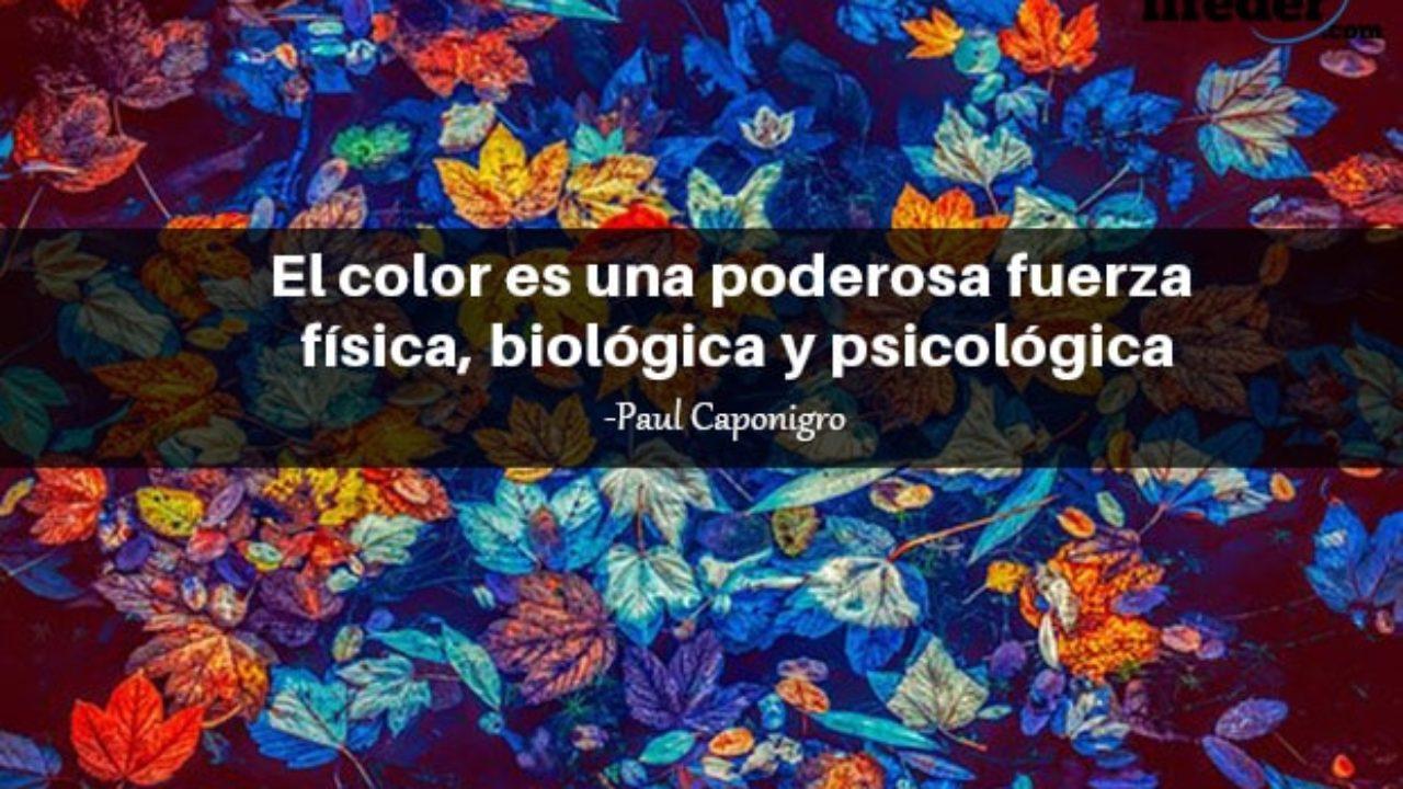 120 Bonitas Frases Sobre El Color Lifeder