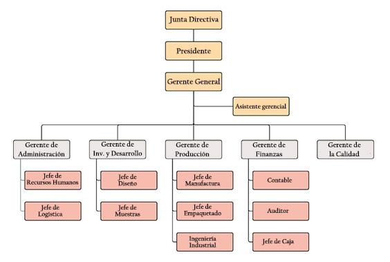 Organigrama De Una Empresa Industrial Puestos Y Funciones