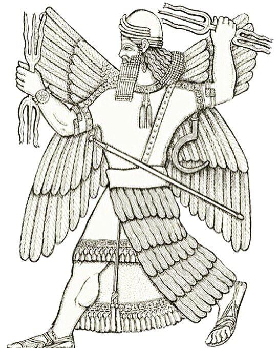 Enlil: etimología, origen, atributos, civilizaciones donde reinaba