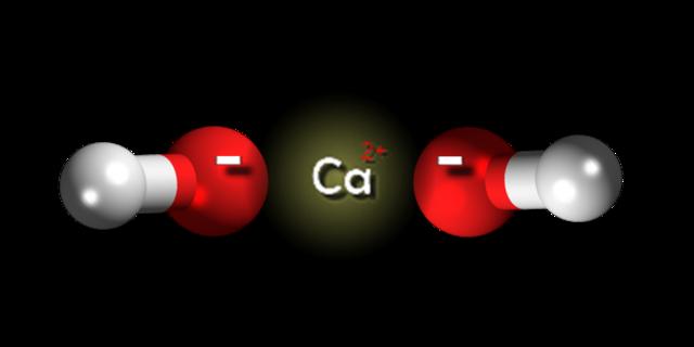 Hidróxido De Calcio Ca Oh 2 Estructura Propiedades Obtención Usos