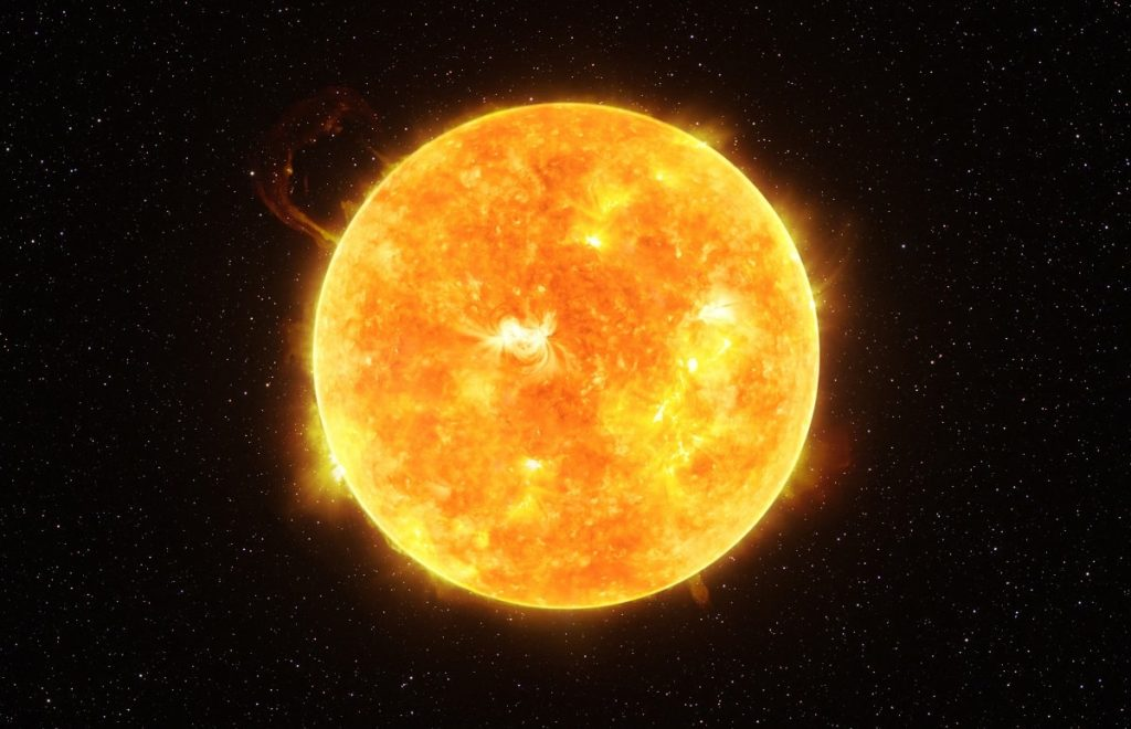 Sol: origen, características, estructura, composición
