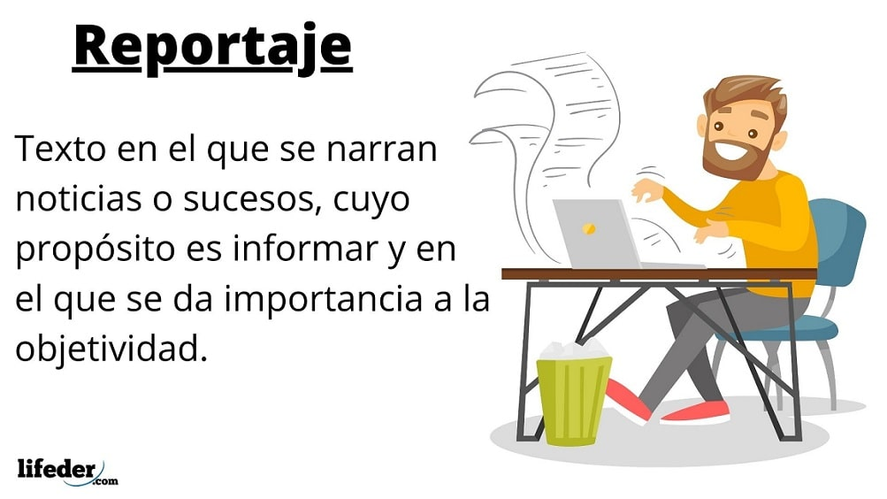 Reportaje Características Tipos Funciones Estructura