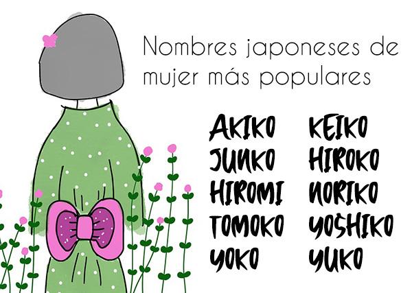 Los 215 Nombres Japoneses De Mujer Más Populares