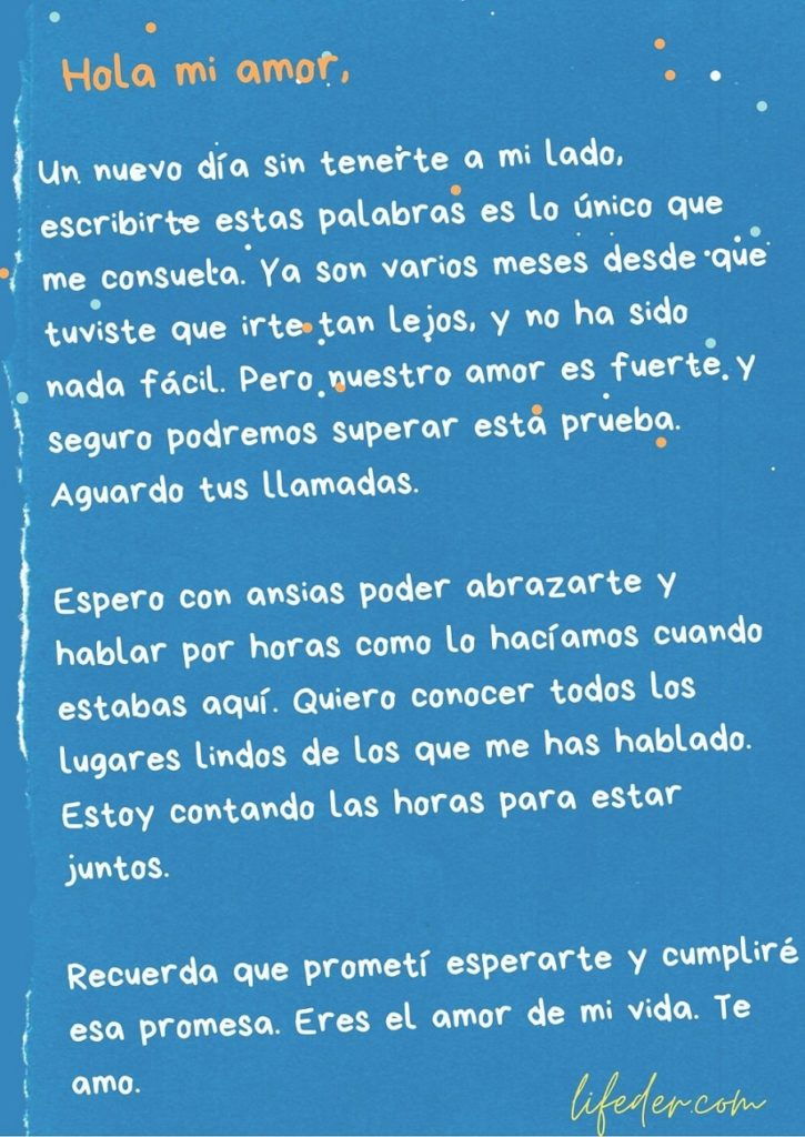 11 Cartas De Amor A Mi Novio O Novia Cortas Y Bonitas