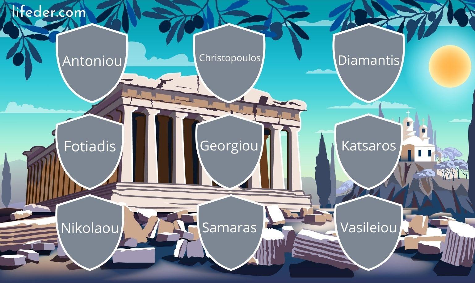 Los 100 Apellidos Griegos Más Comunes Y Sus Significados